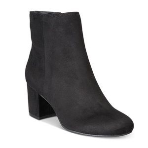 Rebel by Zigi black suede ankle boots